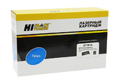 Картридж Hi-Black (HB-Q7581A) для HP CLJ 3800/CP3505/Canon MF8450, Восстановленный, C, 6K