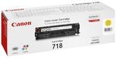 Картридж Canon Cartridge 718 Y (2659B002) для Canon LBP 7200/7660,  LaserBase MF720C Series i-Sensys, Y, 2,9K