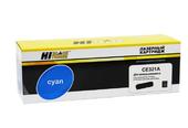 Картридж Hi-Black (HB-CE321A) для HP CLJ Pro CP1525/CM1415, № 128A, C, 1,3K