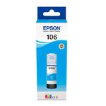Чернила Epson C13T00R240, 106 EcoTank для Epson L7160, L7180, C, 70ml
