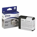 Картридж Epson C13T580900 (T5809) для Epson STYLUS PRO 3800/3880, Light Light BK, 80ml