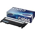 Картридж Samsung CLT-C406S (ST986A) для Samsung CLX 3300/3305, CLP 360/365, Xpress C410/C460, C, 1K