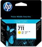 Картридж HP CZ132A для HP Designjet T120/T520, Y, 29ml