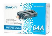 Картридж для принтеров HP LaserJet P4014/P4015/P4515 Europrint EPC-364A
