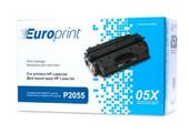 Картридж Europrint CE505X для HP LaserJet P2055 Europrint EPC-505X