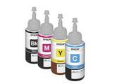 Чернила для фотопечати Epson L100 (70 мл, 4 цвета) оригинальные