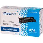 Картридж Europrint EPC-287A для HP LaserJet Enterprise M501, M506, M527, 9K