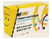 Картридж HP LJ 1010/1020/3050 (Hi-Black) Q2612A-LR, 5K,  картридж+заправка