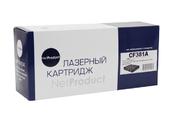 Картридж NetProduct (N-CF381A) для HP CLJ Pro MFP M476dn/dw/nw, №312A, C, 2,7K