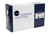 Картридж HP CLJ CP3525/CM3530 (NetProduct) NEW CE251A, C, 7K