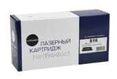 Картридж E16 Canon FC 200/210/220/230/330 (NetProduct) NEW E-16, 2K