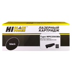 Тонер-картридж Hi-Black (HB-Type MPC2503Bk) для Ricoh Aficio MPC2003SP/C2503, туба, Bk, 15K