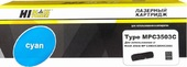 Тонер-картридж Hi-Black (HB-Type MPC3503C) для Ricoh Aficio MP C3003/C3004/C3503, C, 18K